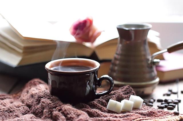 kafé a kniha