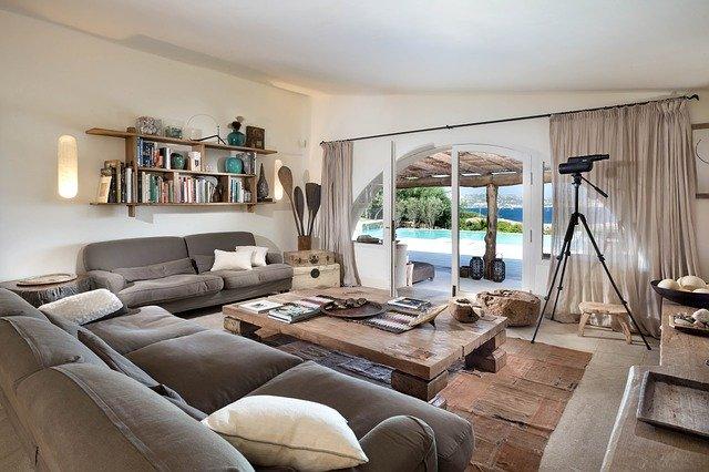 Obývací pokoj u moře